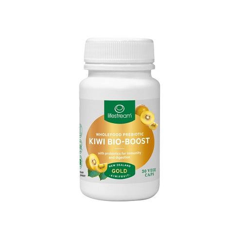 Lifestream Kiwi Bio-Boost Adults 30 Vege Caps