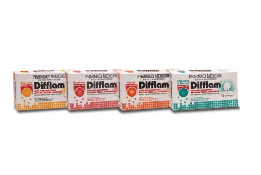 Difflam Sugar Free Lozenges 16s