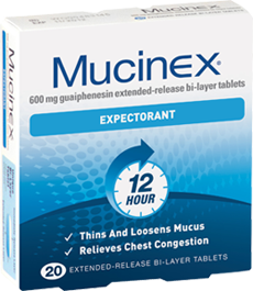 Mucinex Chesty Cough Tablets 20s