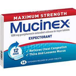 Mucinex Chesty Cough Maximum Strength Tablets 14s
