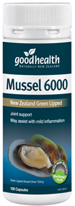 GHP Mussel 6000mg 300caps