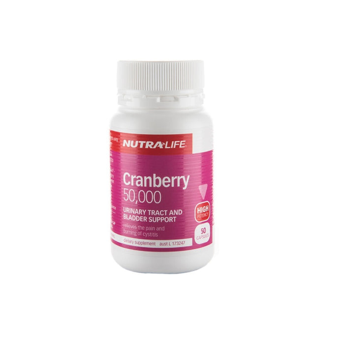 Nutralife Cranberry 50,000