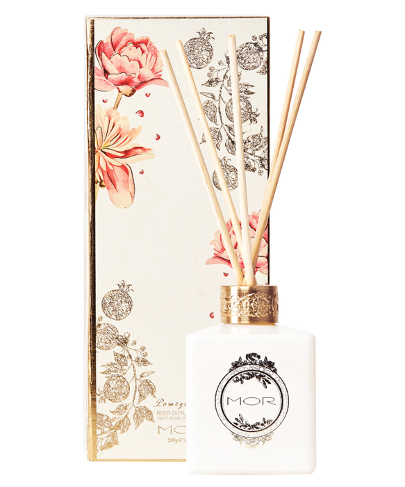 MOR Petite Reed Diffuser 40ml Pomegranate