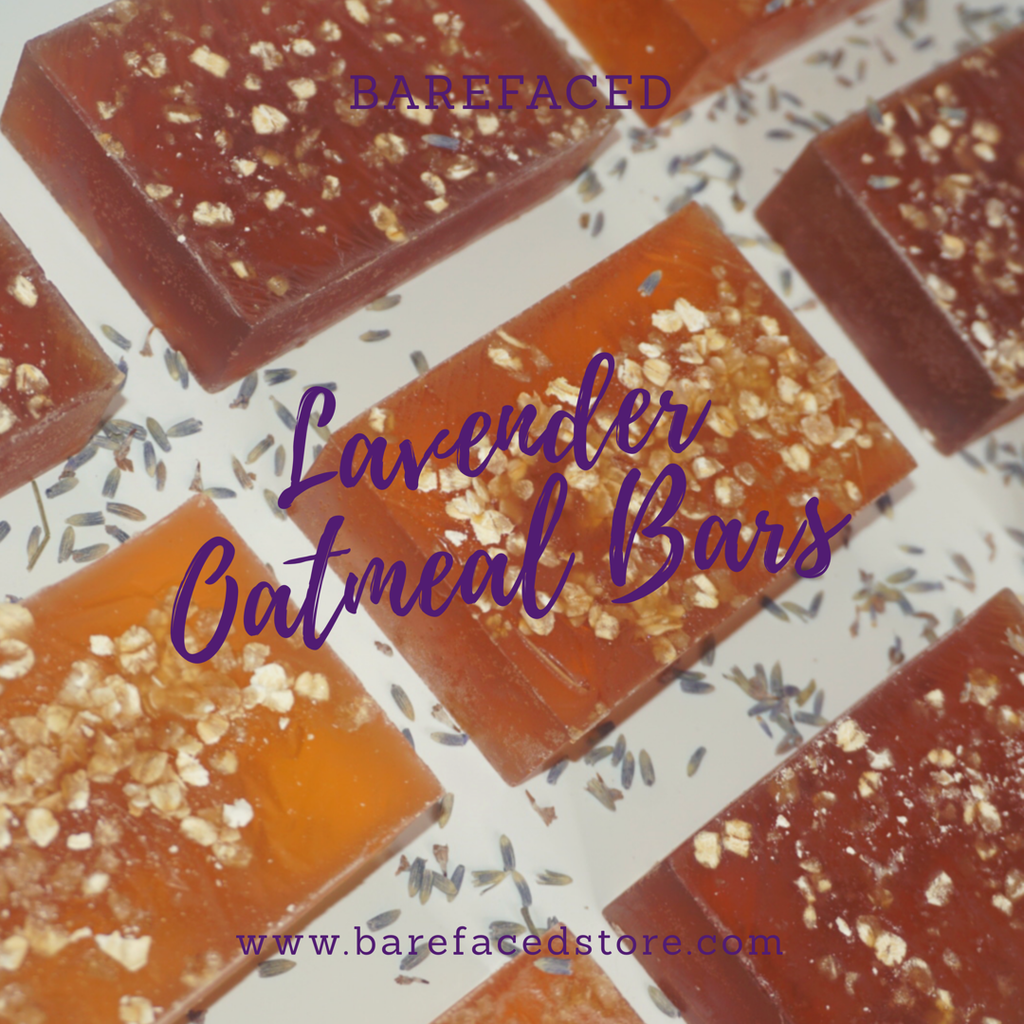 Calming Lavender Oatmeal Bars (Therapeutic Bar)