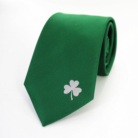 St. Paddys Day Motive Silk Tie
