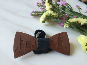 Wooden Bow Tie NYC