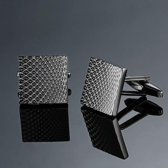Flowing Diamond Cufflinks