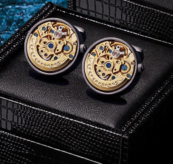 Exquisite Mechanical Cufflinks