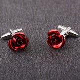Red Rose Cufflinks