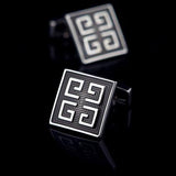 Black Greek Cufflinks