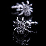 Spider-Crystal Cufflinks