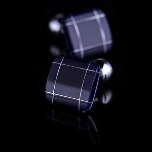 Subtle Checkered Cufflinks
