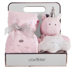 Coffret plaid Unicorne