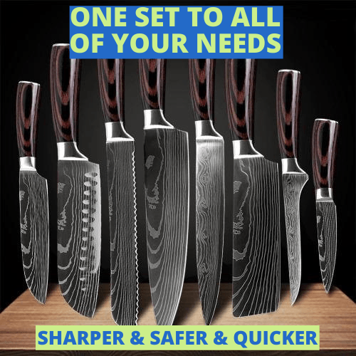 Elite Knives™️- Japanese Stainless Steel Chef Knife Set - Trendy World