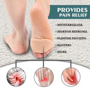 Forefoot Protector™️- Breathable Silicone Forefoot Pads - Trendy World