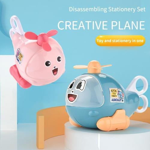Helistationery™️- Transformable Helicopter Pencil Box - Trendy World