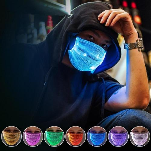 LumiMask™️- Rechargeable Glowing LED Mask - Trendy World