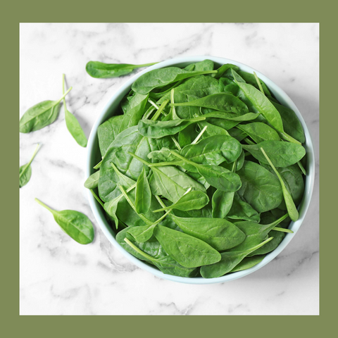 Elisha Foods Organic Baby Spinach Leaves - Featured Leafy Green