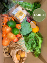 Load image into Gallery viewer, Elisha Foods Certified Organic Fruit & Veg Box Large - Bayside Melbourne