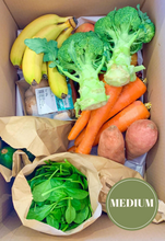 Load image into Gallery viewer, Elisha Foods Certified Organic Fruit & Veg Box Medium - Bayside Melbourne