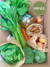 Load image into Gallery viewer, Elisha Foods Certified Organic Fruit & Veg Box Small - Bayside Melbourne