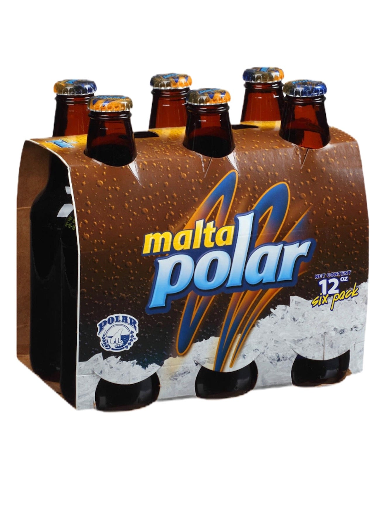 Malta Polar 6 unidades 12 oz botellas
