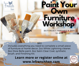 Paint Your Own Furniture (PYOF)