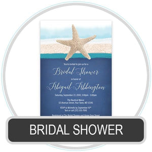 Bridal Shower Invitations online at Artistically Invited