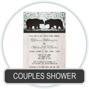 Couples Shower Invitations online at Artistically Invited