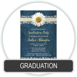 Graduation Invitations online at Artistically Invited
