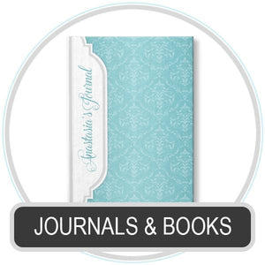 Personalized Journals and Books online at Artistically Invited