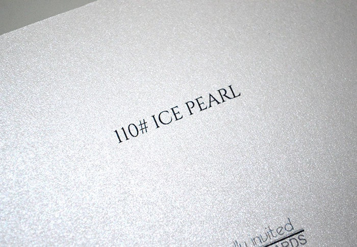 110 Ice Pearl up close - Artistically Invited