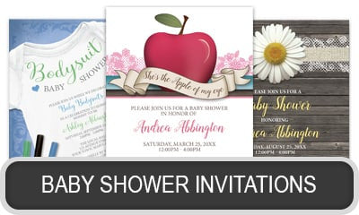Unique Baby Shower Invitations.
