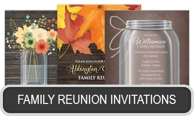 Family Reunion Invitations