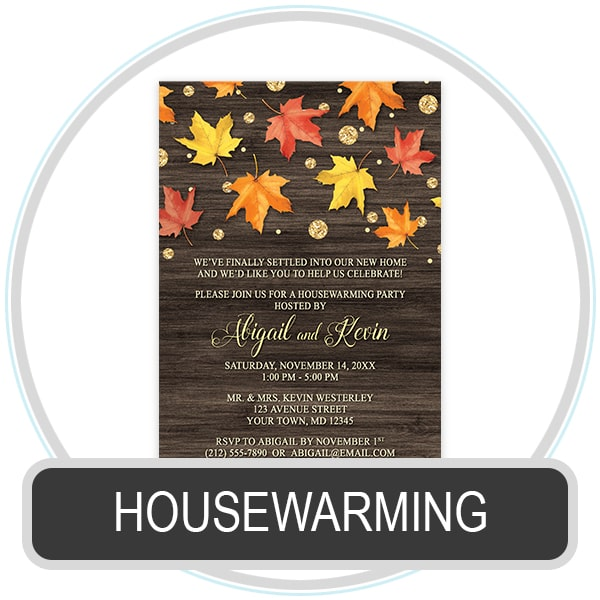 Shop For Housewarming Invitations At Artistically Invited