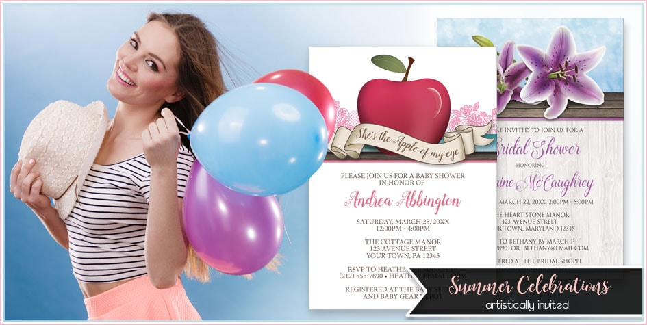 Summer Invitations - Artistically Invited