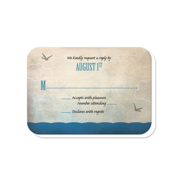 Rustic Sailboat Nautical Reception Only Invitations - Artistically Invited