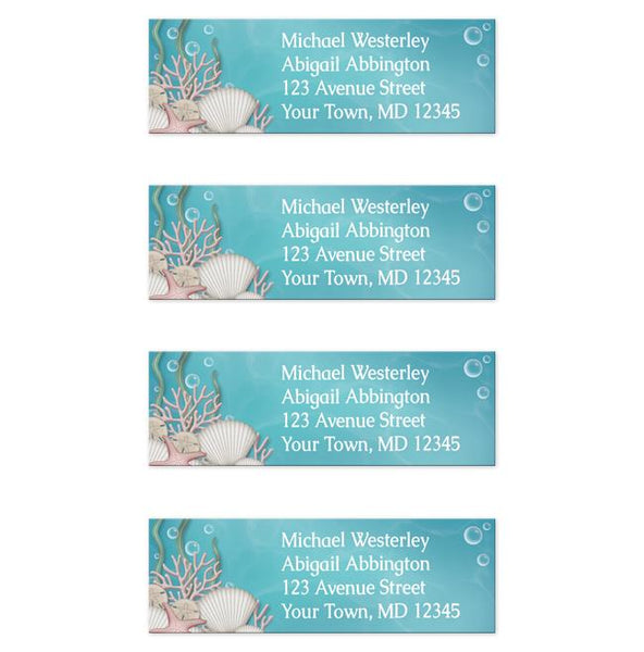 Whimsical Under the Sea Address Labels