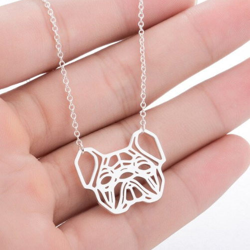 French Bulldog & Paw Necklaces