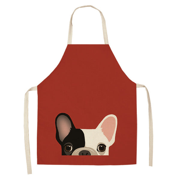 Frenchie Kitchen Apron