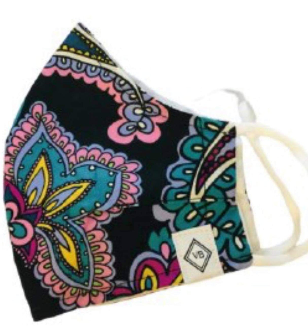 Vera Bradley Black and Hue