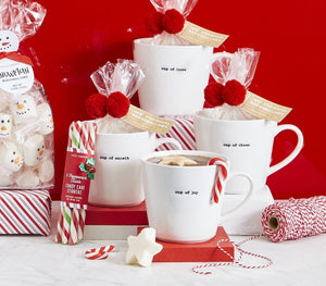 Cup of Love Star Shaped Marshmallows Mug