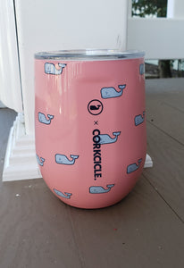 Corkcicle x Vineyard Vines Signature Whale Stemless