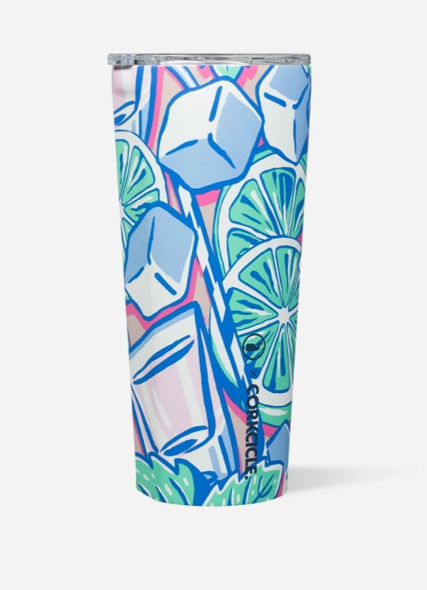 Corkcicle x Vineyard Vines Mint Julip Tumbler