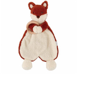 Mudpie Fox Woobie with Teether