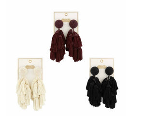Mudpie Tiered Earrings