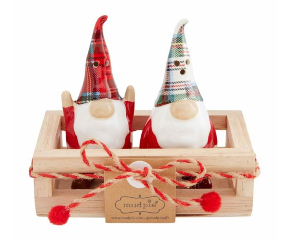 Mudpie Salt and Pepper Gnomes