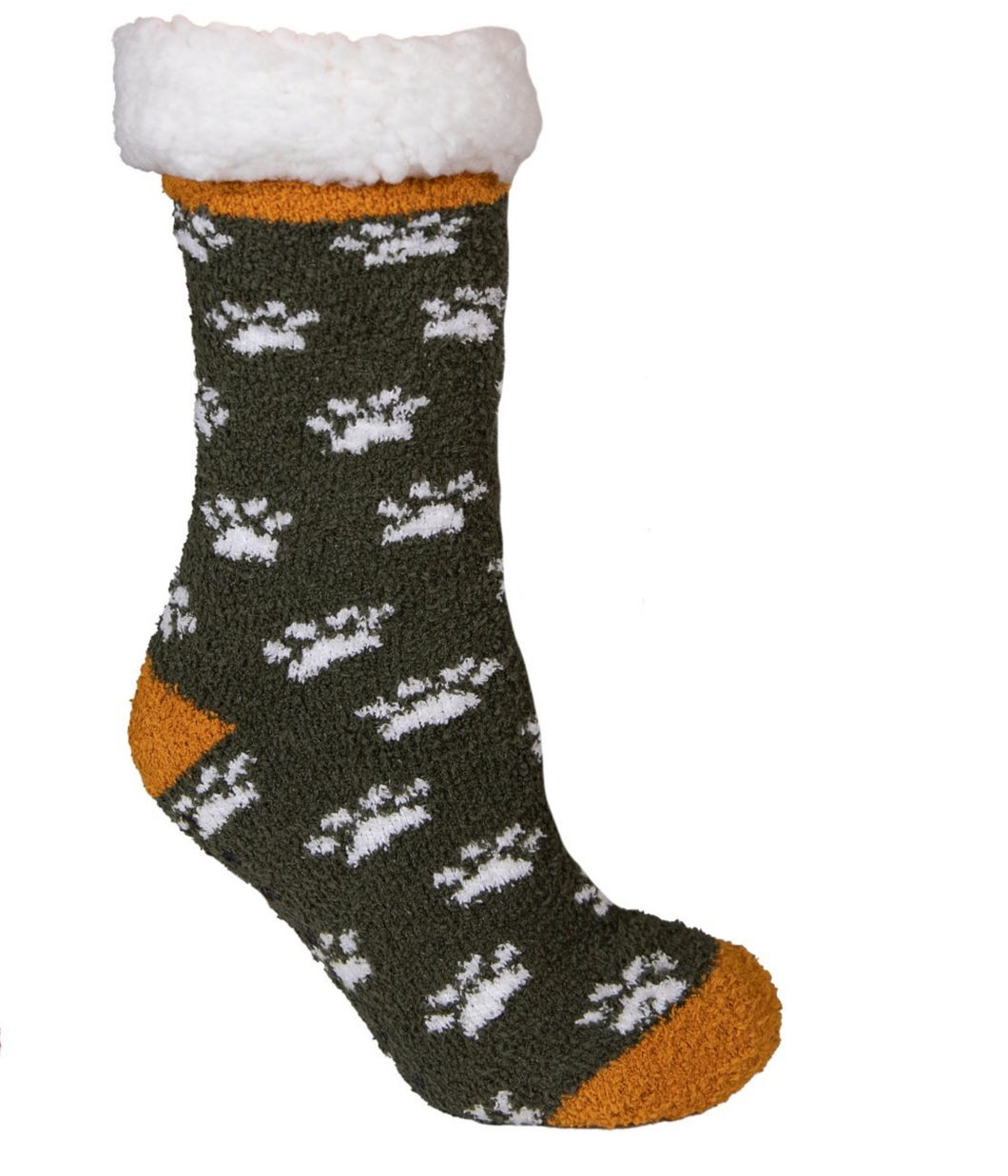 Simply Southern Camper Socks - Paw Print