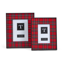 Load image into Gallery viewer, Plaid Christmas Frame 5x7