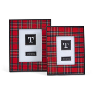 Plaid Christmas Frame 5x7